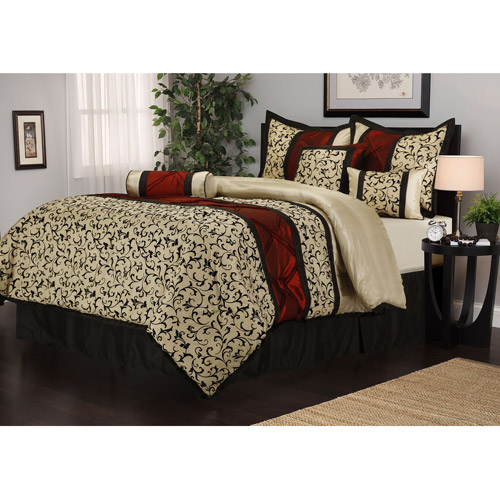 Bella 7-Piece Bedding Comforter Set