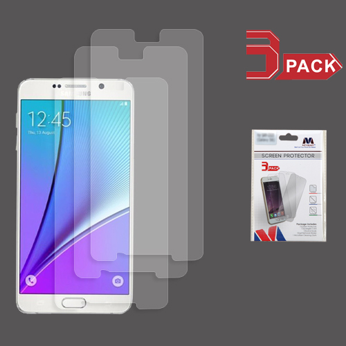For Samsung Galaxy Note 5 Clear Screen Protector Film Cover (3-pack)