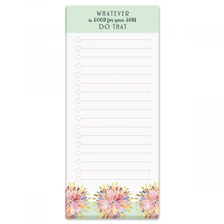 Whatever Lined Shopping List Pad - 3-1/2