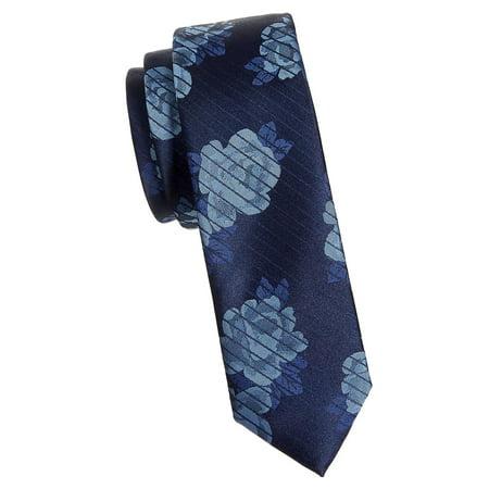 Nautica Striped Tie - Hollet Floral Striped Tie