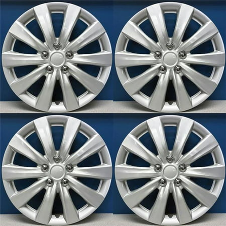 Toyota Corolla Coolant - 16 in. Hubcaps Wheel Covers, Toyota Corolla Style - Set of 4