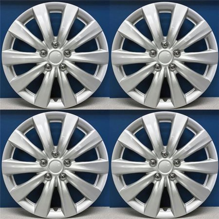 16 in. Hubcaps Wheel Covers, Toyota Corolla Style - Set of 4