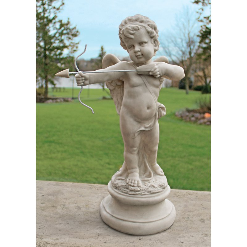 Design Toscano Cupid's Message of Love Statue