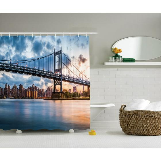 New York City Decor Kennedy Triboro Bridge Queens Nyc ...