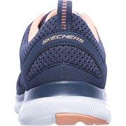 7aa793de5bf1 12761 Slate Navy Skechers Shoes Women s Memory Foam Sport Train Comfort  Flex New 12761SLT Image 4