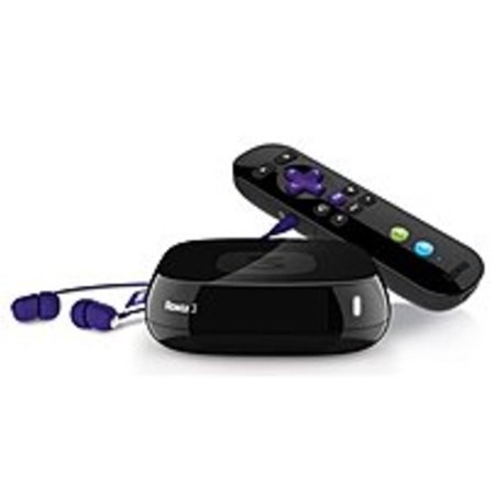 Roku 4200R 3 Streaming Media Player   Fast Ethernet   Netflix   Refurbished