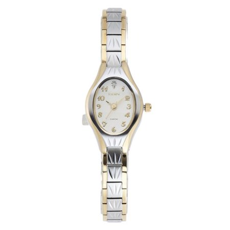 Ladies' Two-Tone Watch with Diamond Accent - Master Ladies Diamond Watch