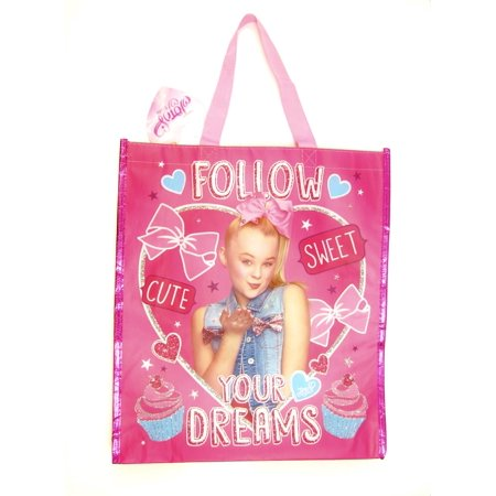 Jojo Siwa Large Girls  shopping Tote Carry All Bag Follow your Dreams