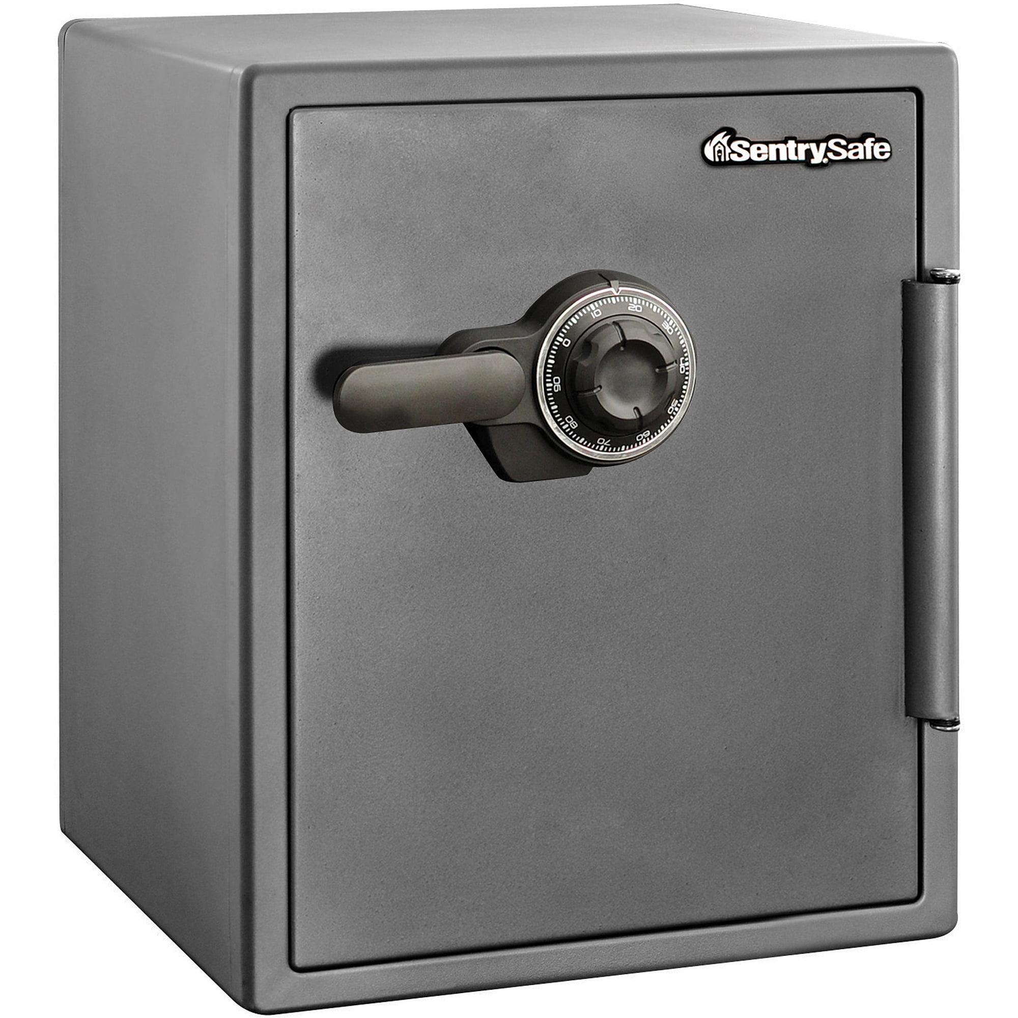 Sentrysafe Sf205cv Combination Fire Security Safe 2 Cu Ft