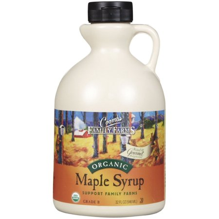 Farms Organic Maple Syrup - Coombs Family Farms Organic Grade A Maple Syrup, 32 Ounce