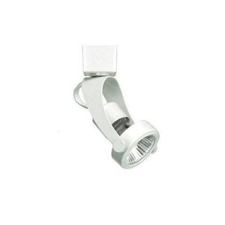 WAC Lighting 50W GU10 Miniature Line Voltage White H Series Track Head