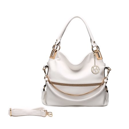 MKF Collection Twister Handbag by Mia K. (Khaki Cam Bag)