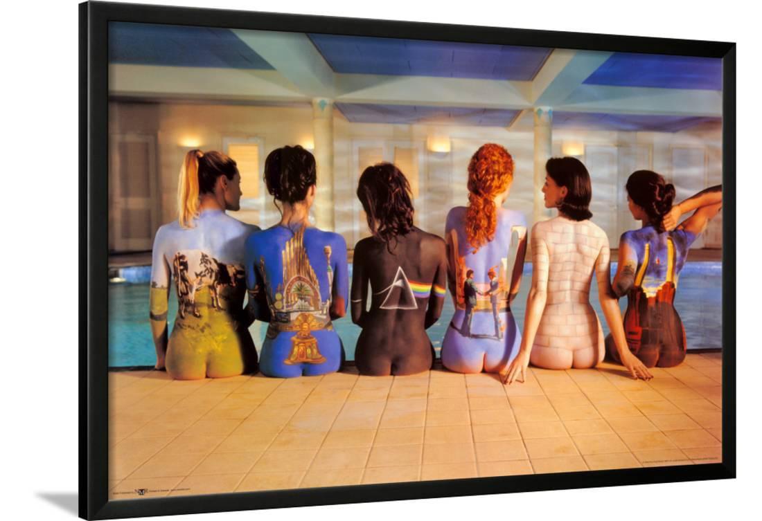 Pink Floyd Back Catalogue Lamina Framed Poster Wall Art 38x26