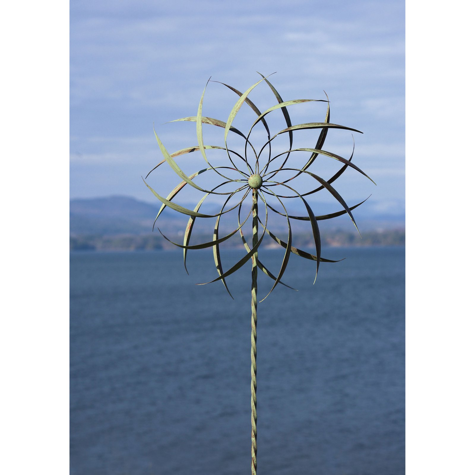 Ancient Graffiti Pinwheel Twisted Stake