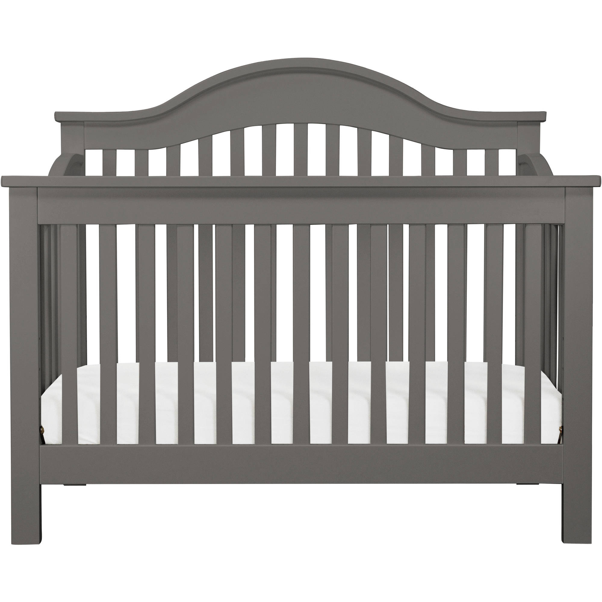 DaVinci Jayden 4-in-1 Convertible Crib with Toddler Bed Conversion Kit - Slate