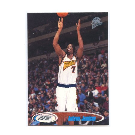competitive price b49bb ba37e 1998-99 Stadium Club #197 Antawn Jamison Golden State Warriors Rookie Card  - Walmart.com