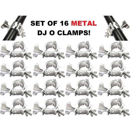 16-Pack LOAD 220LB OCllamp Hook Mount For DJ Party Stage Lights Pipe 48-51mm