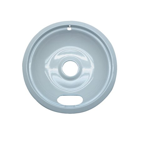 Frigidaire Electric Coil Range - Range Kleen 1 Large Drip Bowl, Style A fits Plug-In Electric Ranges Amana/Crosley/Frigidaire/Kenmore/Maytag/Whirlpool, White Porcelain