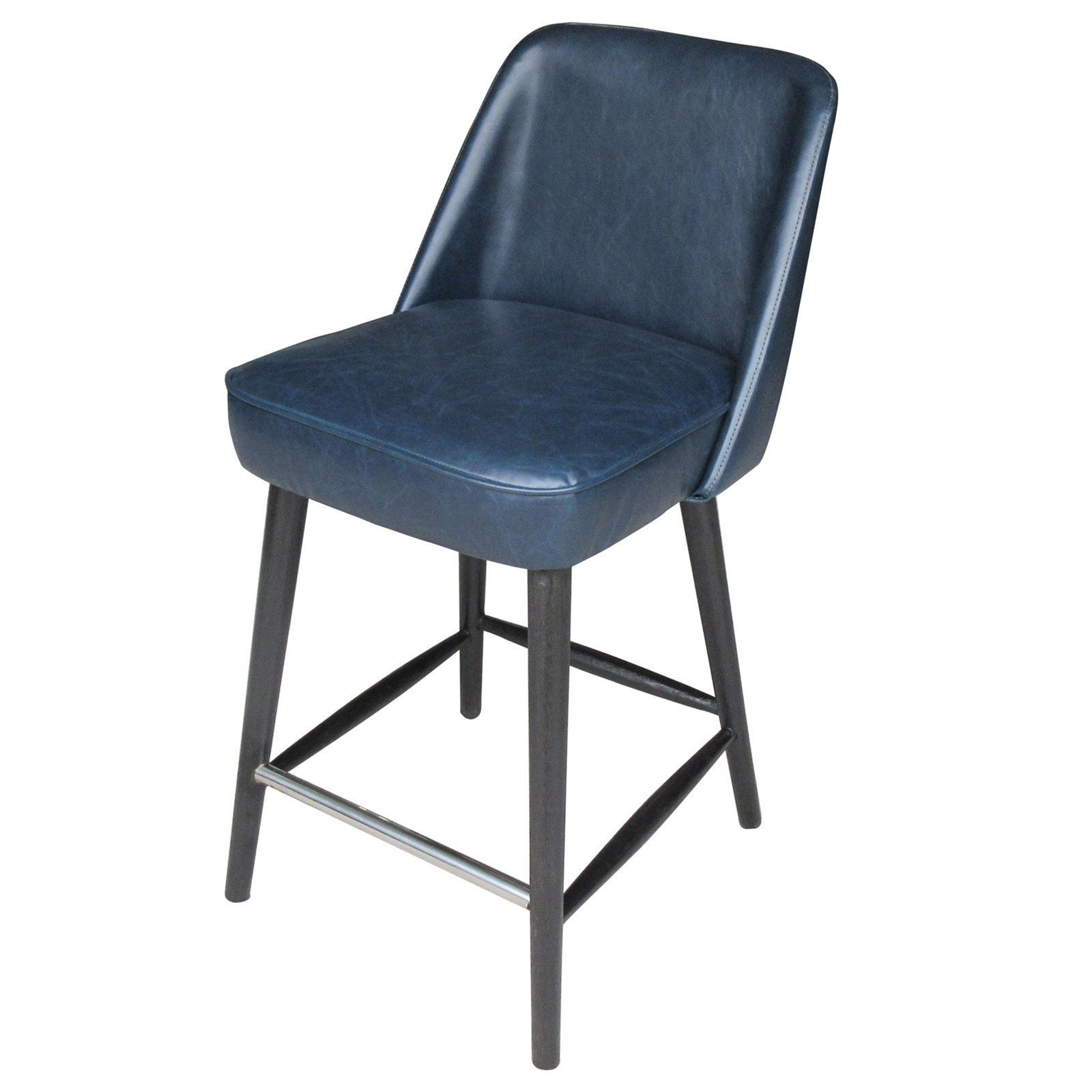Monica 25 in. Upholstered Counter Height Stool