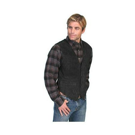 Men's Scully Boar Suede Snap Front Vest (Orvis Suede Vest)