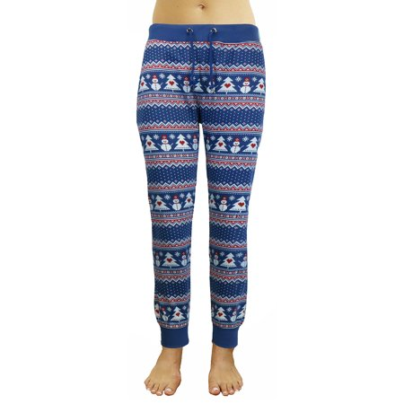 GBH Women's Slim-Fit French Terry Holiday Christmas Joggers (S-XL)