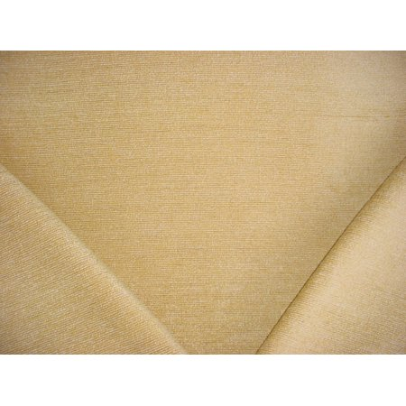 39RT7 - Cornsilk / Platinum Textured Strie Pinstripe Chenille Designer Upholstery Drapery Fabric - By the Yard