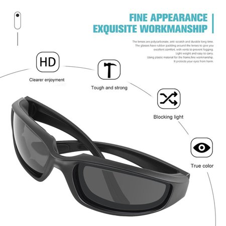 VENSE Motorcycle Glasses Windproof Dustproof Eye Glasses Goggles Outdoor Glasses - image 5 of 8