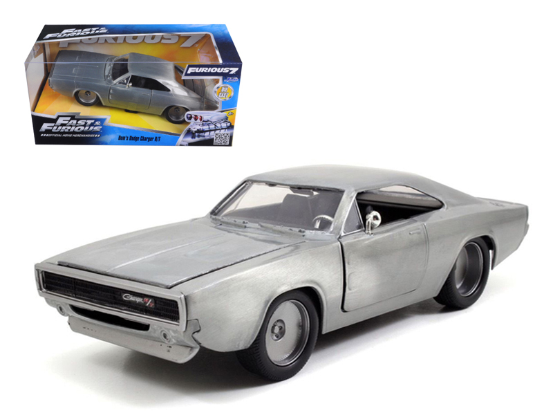 Dom S 1970 Dodge Charger R T Bare Metal Fast Furious 7 Movie 1 24 Diecast Model Car By Jada Walmart Canada