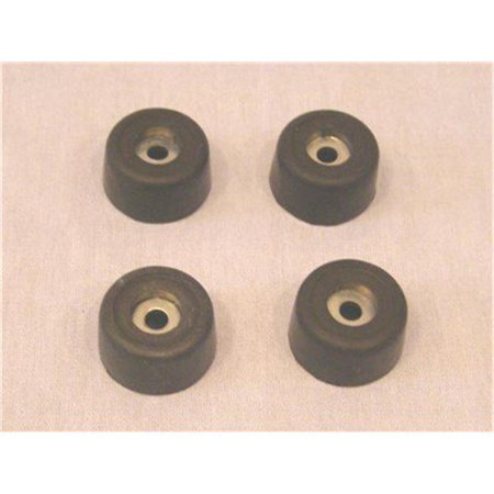 Industries Rubber (Allegro Industries 9700-06 Rubber Feet for)