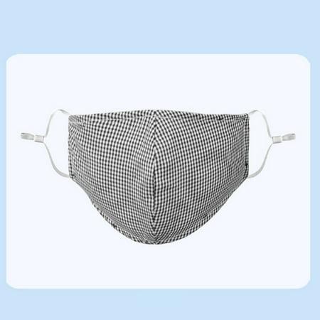Boyijia Unisex Non-woven Fabric Face Mask Anti-dust Anti-haze Breathable Washable Reusable Windproof Mask - image 8 of 9