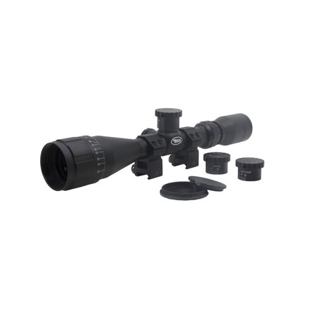 3-9X40MM SWEET 270 AO W/ RINGS (Best Hunting Scope For 270)