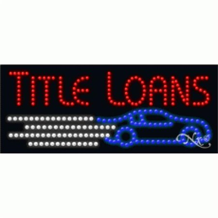 Arter Neon 21225 Threading   Title Loans  44  Red