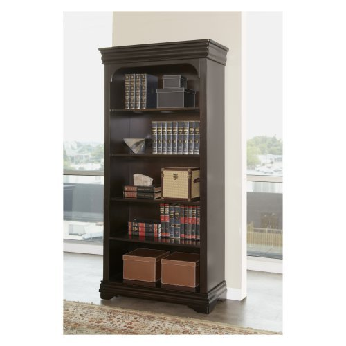 Martin Home Furnishings Furniture Beaumont Open Bookcase - 36 in.