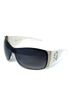 4c3cbbbe440 Product Image (3 Pack) KHAN Sunglasses Shield 1028 White