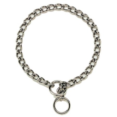 05540 A G4028 28 in. Chain Dog Collar, 4 mm