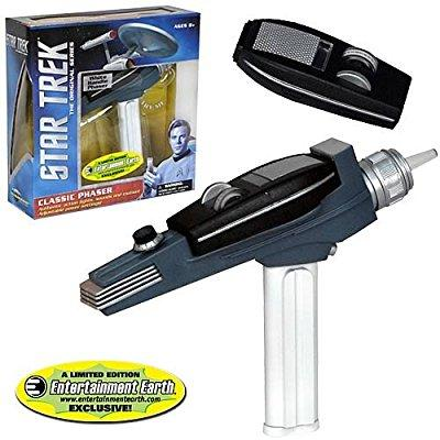 Star Trek Classic White Handle Phaser - Entertainment Earth Exclusive