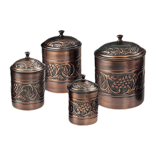 Old Dutch International Heritage 4-Piece Canister Set