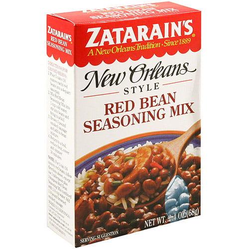 Zatarain's New Orleans Style Red Bean Seasoning Mix, 2.4 oz (Pack of 12)