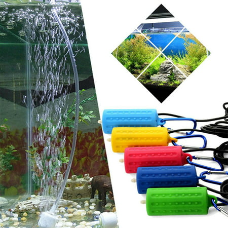 Portable Mini USB Aquarium Fish Tank Oxygen Air Pump Mute Energy Saving Supplies Accessories yellow