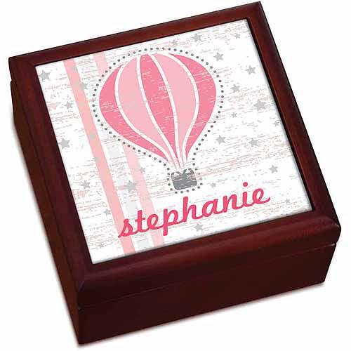 Hot Air Balloon Personalized Keepsake Box
