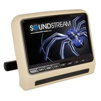 "Soundstream SHAD-9H Universal Headrest Mount Car DVD Player with 9"" LCD Monitor"