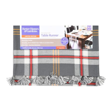 Better Homes&gardens Farmhouse Plaid Runner