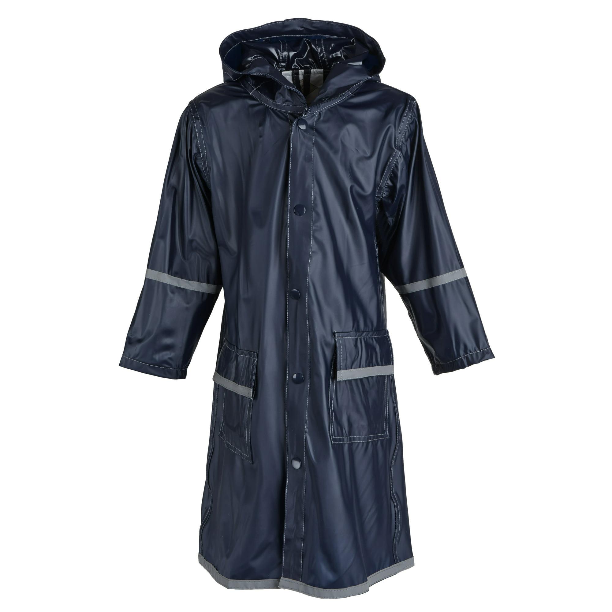 4708d5b95 Buy Girls Kids Waterproof Full Length Long Hooded Raincoat Jacket ...