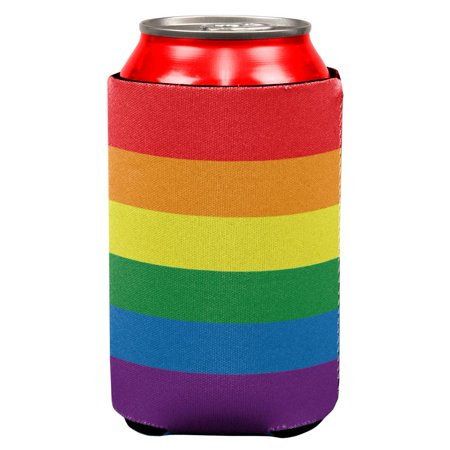 Rainbow Gay Pride Flag All Over Can Cooler