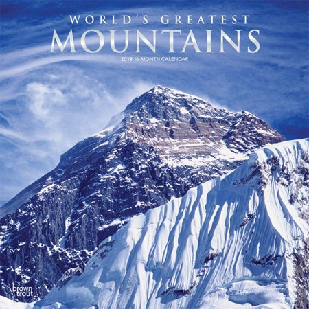Mountain Foil (Mountains, World's Greatest 2019 Square Foil)