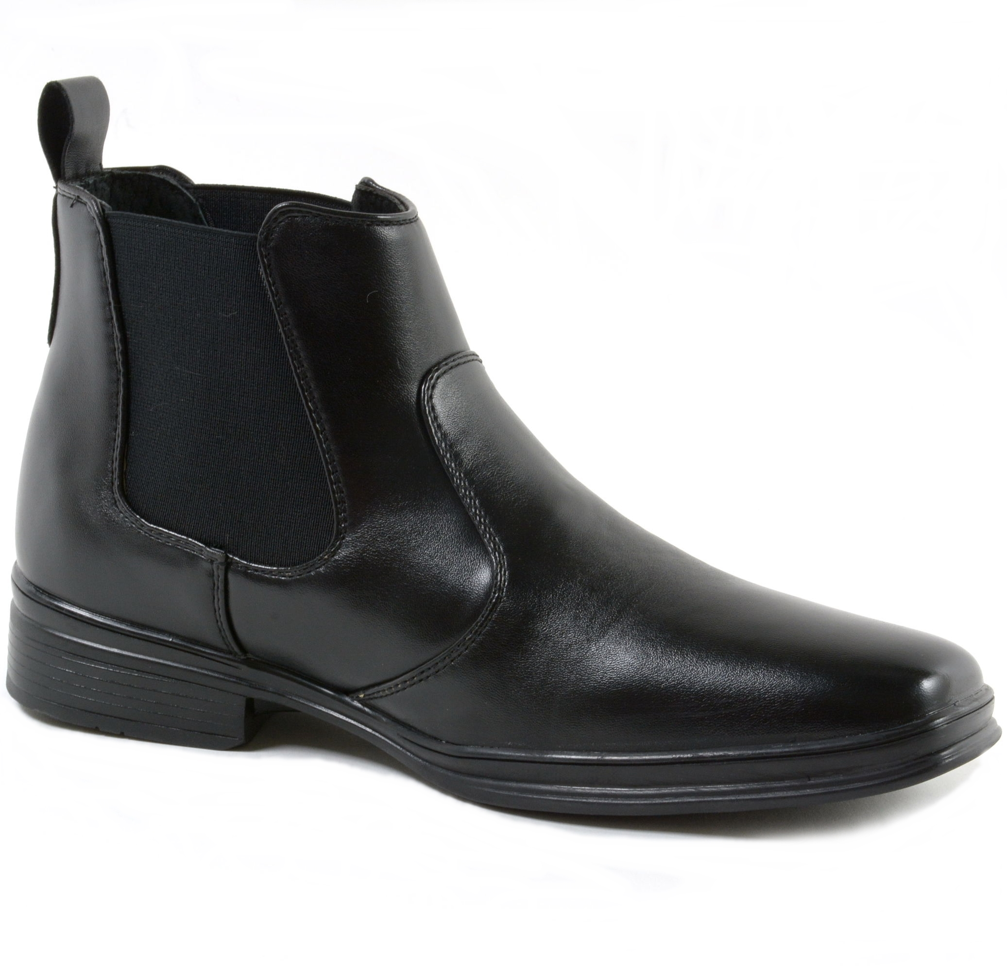 Dress Black boots for men pictures catalog photo