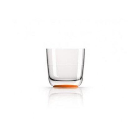 MARC NEWSON PM860 Whisky Tumbler - Orange Nonslip Base - Pack of 2 - image 1 of 1