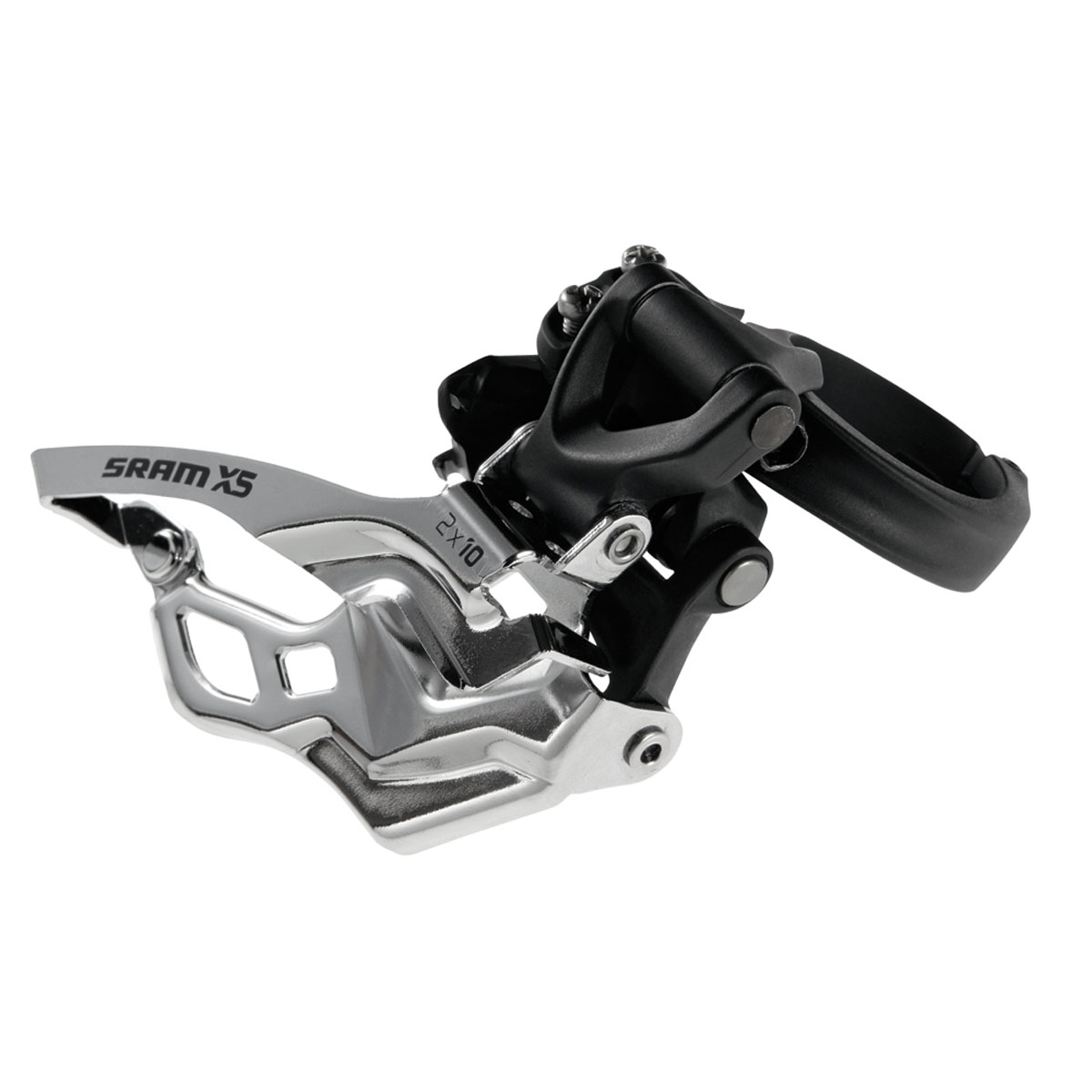 SRAM X5 Clamp Mounted Mountain Bicycle Front Derailleur