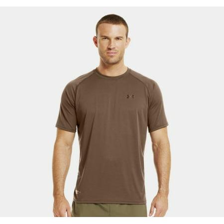 Under armour tactical tech s s t shirt xl brown for Under armour brown t shirt