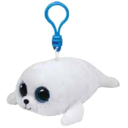 Icy Seal Beanie Boo Clip - Stuffed Animal by Ty (36624)